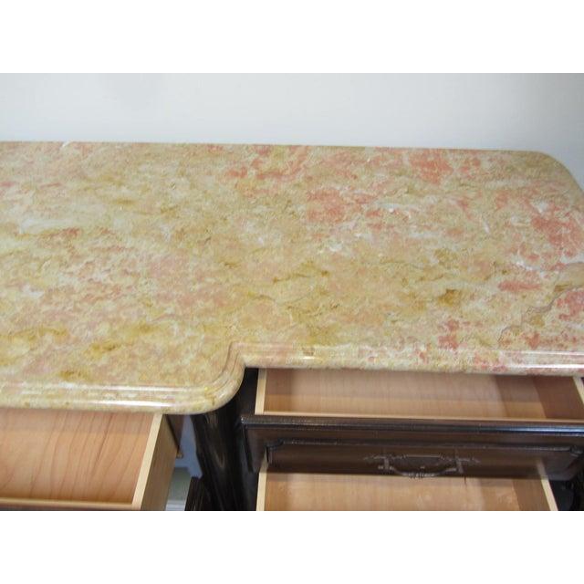 French Traditions Marble Top Buffet - Image 5 of 10