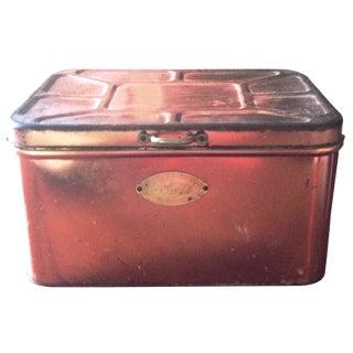 Vintage Copper Bread Box