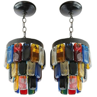 Brutal Style Glass Pendants