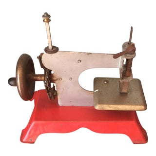 Children's Vintage Sewing Machine