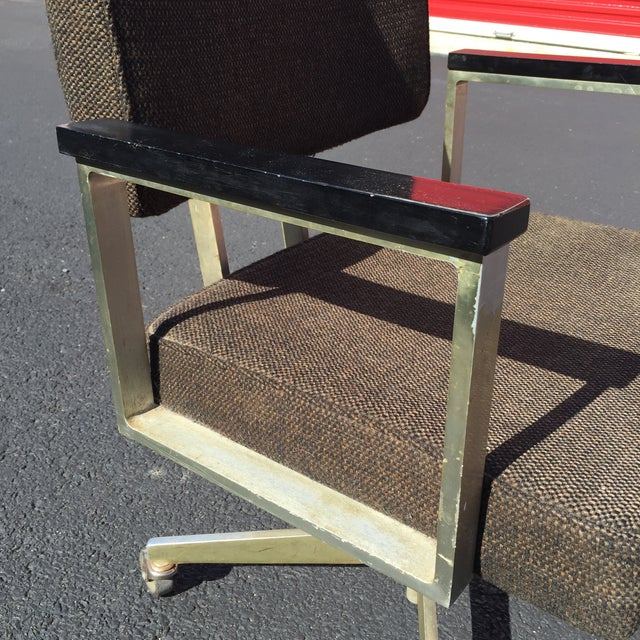 Mid-Century Desk Chair by Good Form Aluminum - Image 7 of 7
