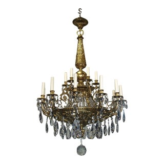 Antique Chandelier Louis XVI Chandelier
