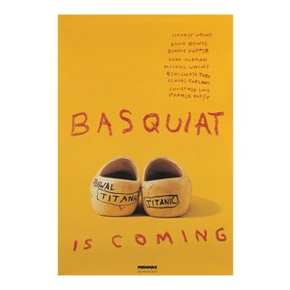 1996 Basquiat Original USA One Sheet Poster