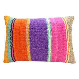 Bright Turkish Kilim Pillow Cover - Allie
