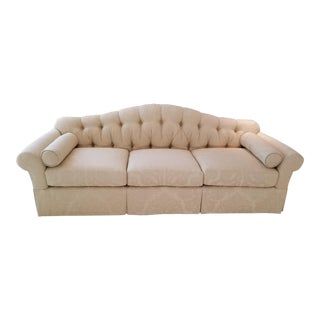 Never Used Bakers Furniture Upholstery Collection Standard Sofa