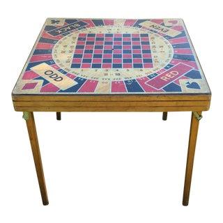 Vintage 5 in 1 Gaming Table
