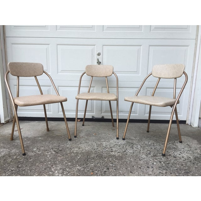 Mid-Century Stylaire Folding Chair - Set of 3 - Image 3 of 11
