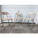 Image of Mid-Century Stylaire Folding Chair - Set of 3