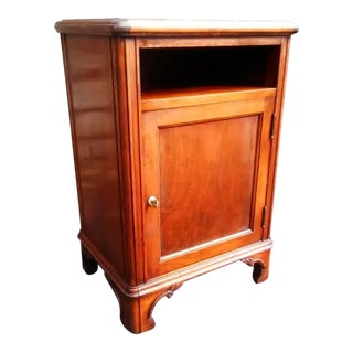 Antique Walnut Liquor Cellarette