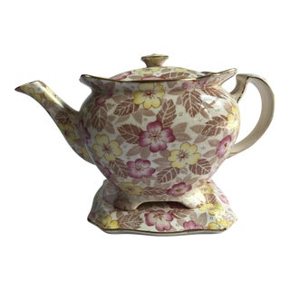Royal Winton Teapot & Trivet