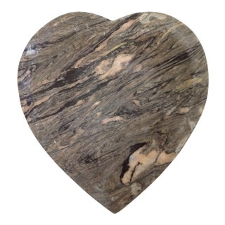 Heart Shaped Marble Paperweight