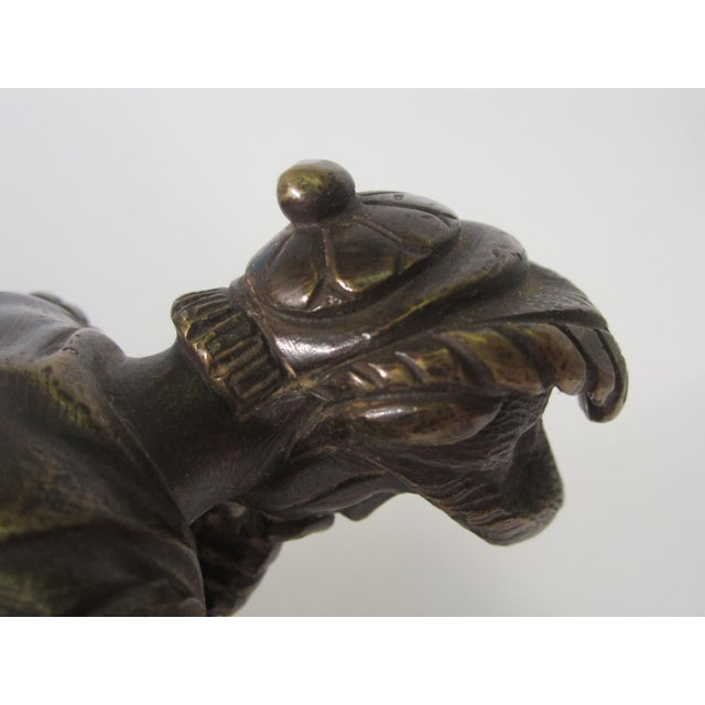 Image of Grand Tour Victorian Bronze of Roman Soldier