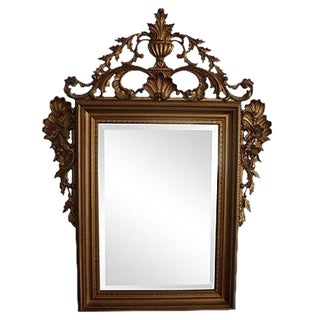 Ornate Italian Gold Mirror