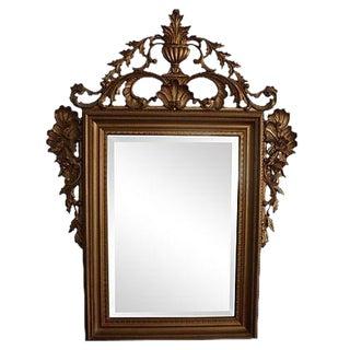 Ornate Italian Gold Wall Mirror