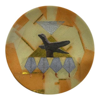 "Original ""Birdie"" Collage Plate"