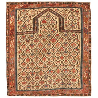 Antique 19th Century Caucasian Shirvan Rug