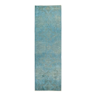 """Hand Knotted """"Vibrance"""" Runner Rug - 3' 2"""" X 10' 1"""""""