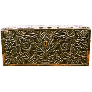 Coromandel Carved Box