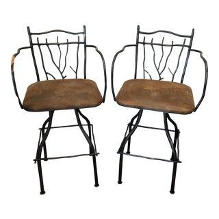 Artisan Home Swivel Barstools - Pair