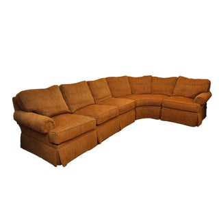 Henredon Lawson Arm Chenille Sofa Sectional