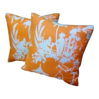 Thibaut Pillows - a Pair