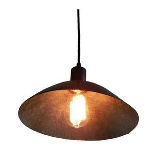 Antique Black Bowl Pendant Light