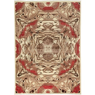 """Shalimar, Hand Knotted Area Rug - 6' 2"""" x 8' 6"""""""