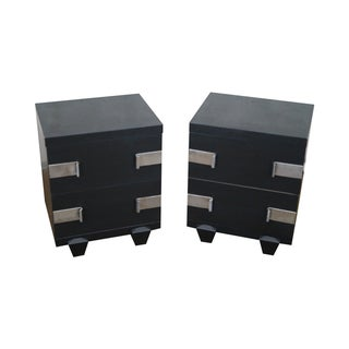 James Mont-Style Nightstands- A Pair