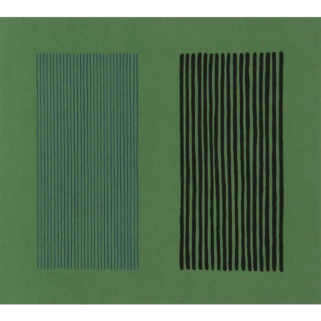 Green Giant Lithograph by Gene Davis - Image 3 of 3