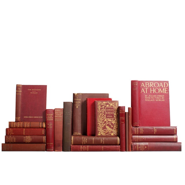 Image of Mahogany United States History Books - Set of 20