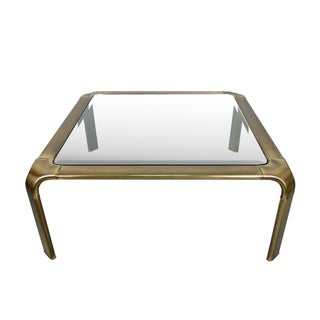Widdicomb Mid-Century Modern Brass Coffee Table