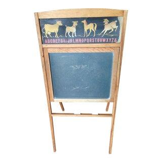 1940's Freestanding Chalkboard