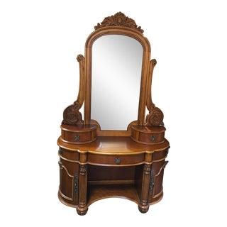Edwardian Style Vanity & Mirror