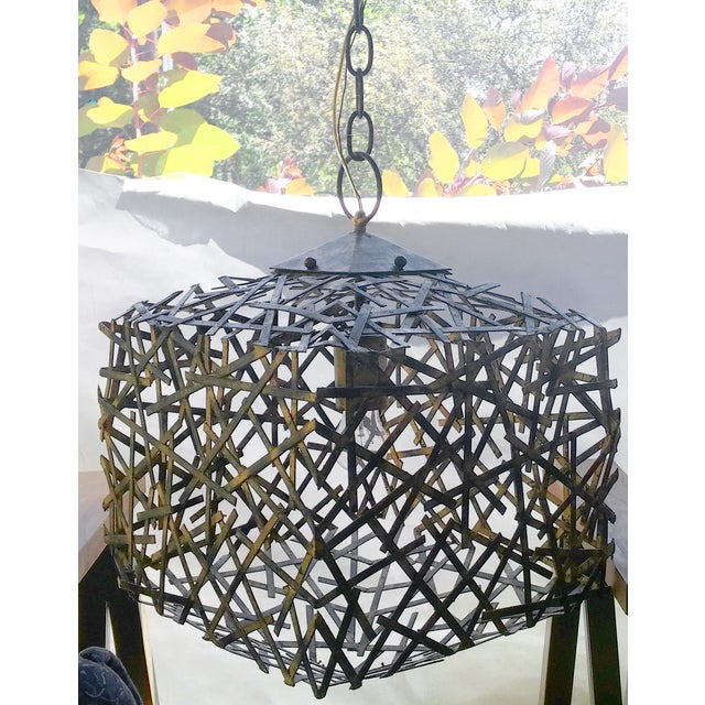 Image of Confetti Cube Pendant Chandelier