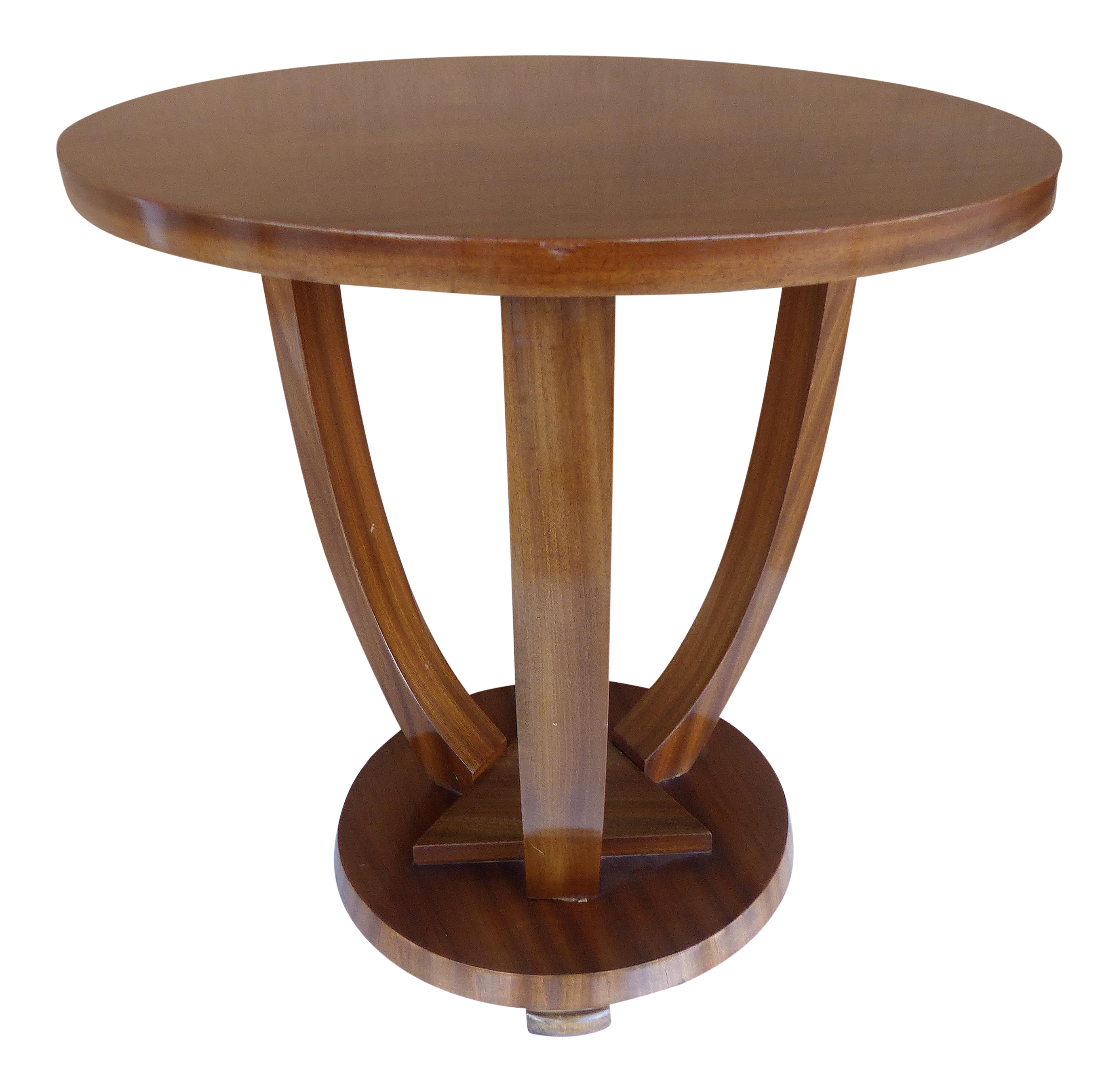 Art Deco Mahogany Side Table