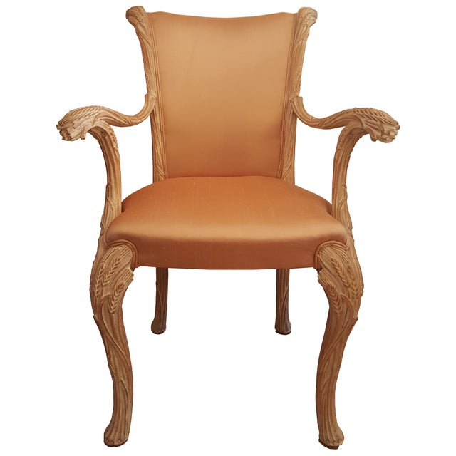 Image of Louis XV Weeds Armchairs - Pair