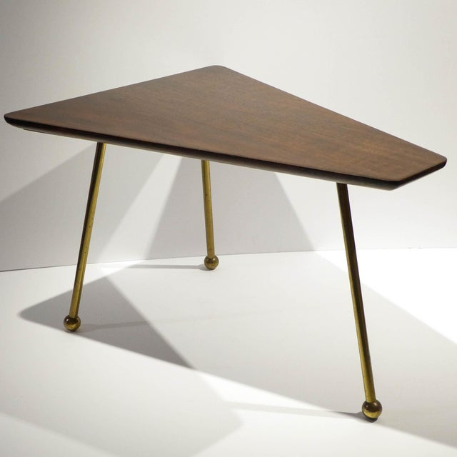 Image of Martin Freedgood Trapezoidal Side Table