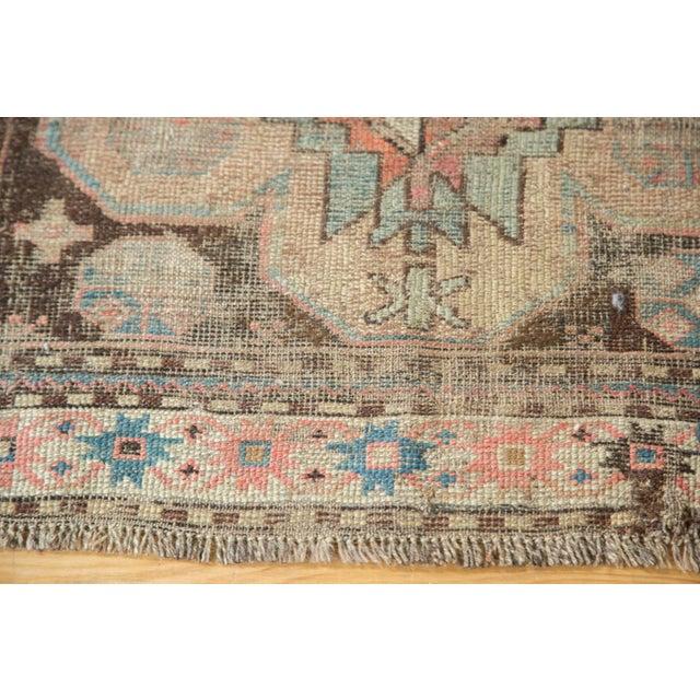 """Distressed Antique Caucasian Rug - 3'6"""" X 5'11"""" - Image 6 of 10"""