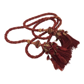 Old World Antique Textile Tassel