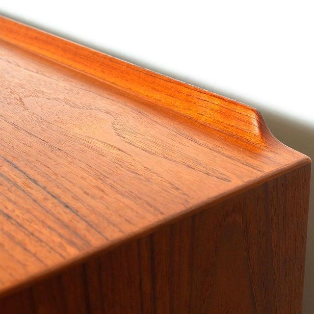 Rare Arne Vodder Danish Modern Teak Highboard - Image 6 of 10