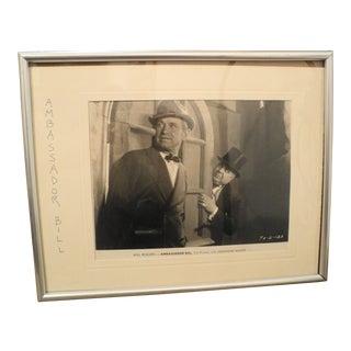 Ambassador Bill Hollywood Movie Photograph