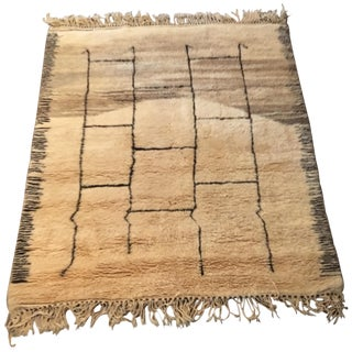 Moroccan Contemporary Rug - 5′4″ × 6′9″