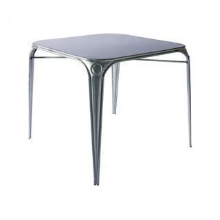 French Industrial Galvanized Bistro Table
