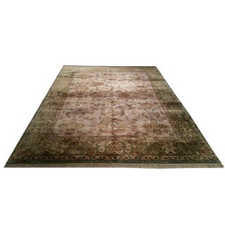 Traditional Hand Made Knotted Rug