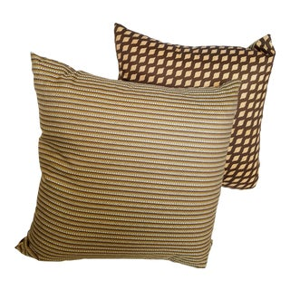 Eric Soroe Custom Made Designer Pillows - a Pair
