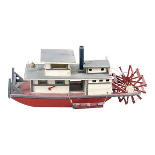 Folk Art Steamship of Large-scale