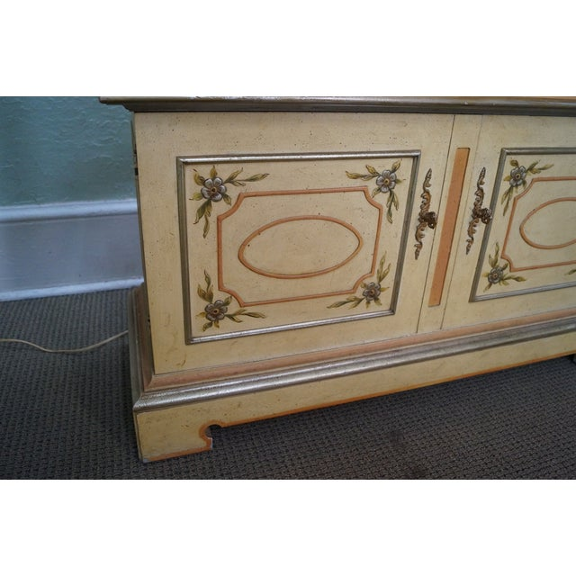 Widdicomb French Louis XV Venetian Curio Cabinet - Image 8 of 10