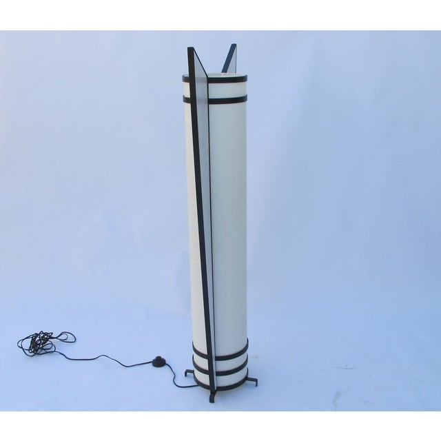 1970 39 s art deco style floor lamp chairish - Artistic d lamp shade designed with modern and elegant shape style ...