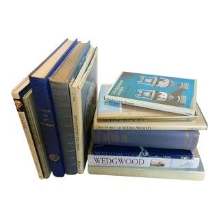 Wedgwood Ceramics History Books - Set of 12