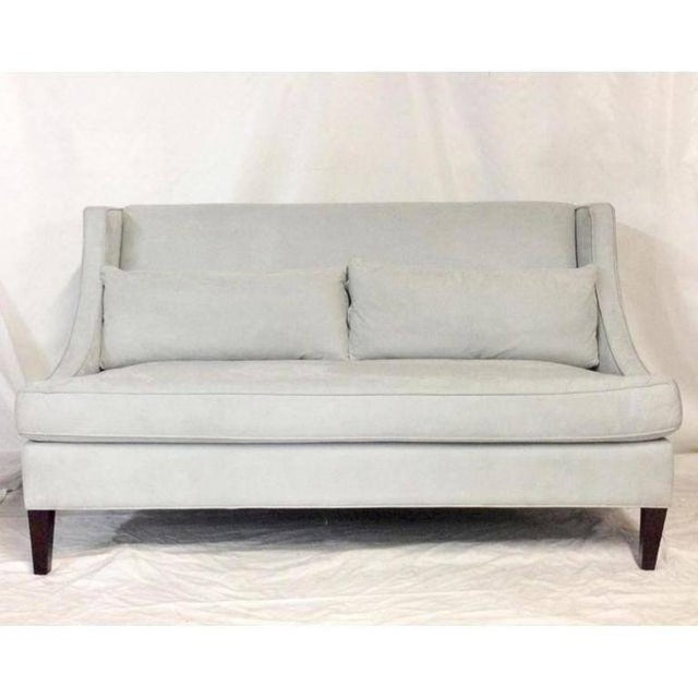 Contemporary American Made Upholstered Settee - Image 2 of 6